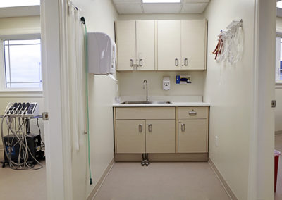 Dentistry, Scrub Area and Surgery